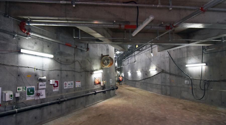 中電啟德電纜隧道工程